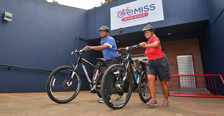 Ole Miss Bike Shop encourages alternative transit
