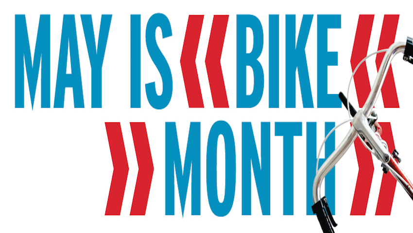 May is Bike Month